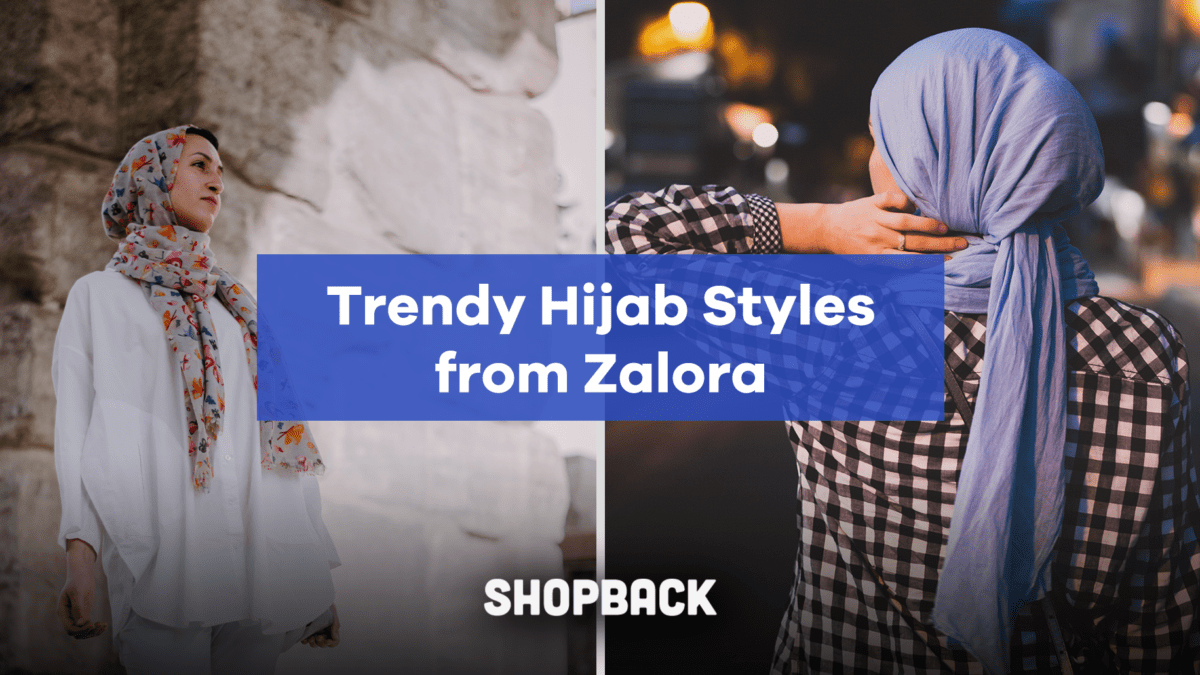 Fashionable and Trendy Hijab Styles from Zalora for Every Occasion!