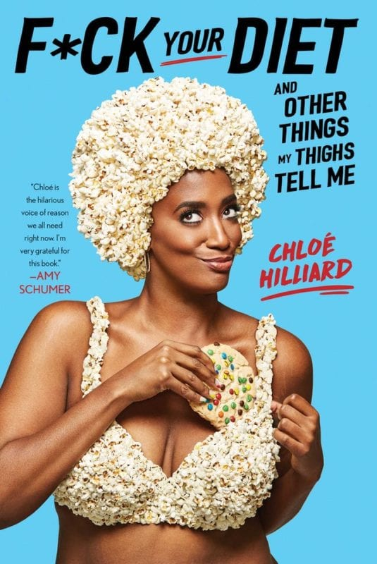diet and other things my thigh tells me by chloe hilliard