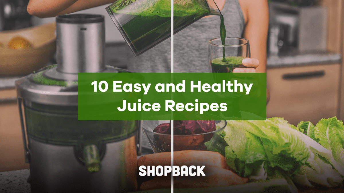10 Easy and Healthy Juice Recipes To Boost Your Immunity