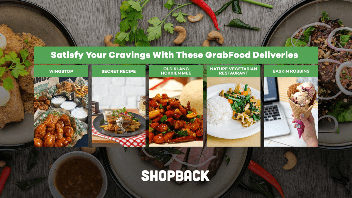 Satisfy Your Cravings With These GrabFood Deliveries
