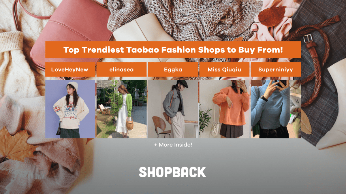 CNY Sales: Top Trendiest Taobao Fashion Shops to Buy From!