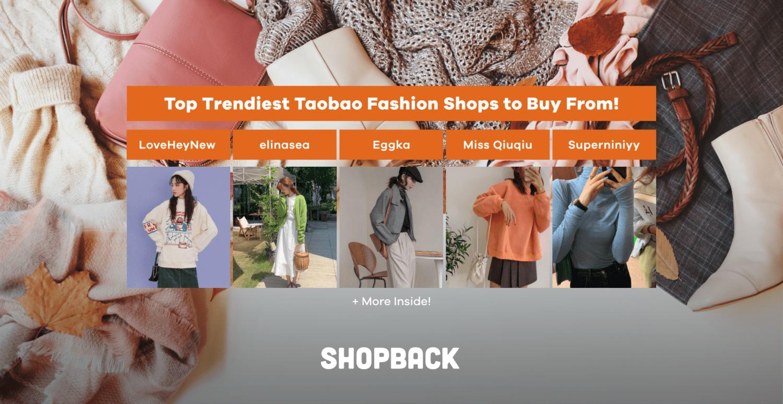 trendy taobao fashion shops malaysia