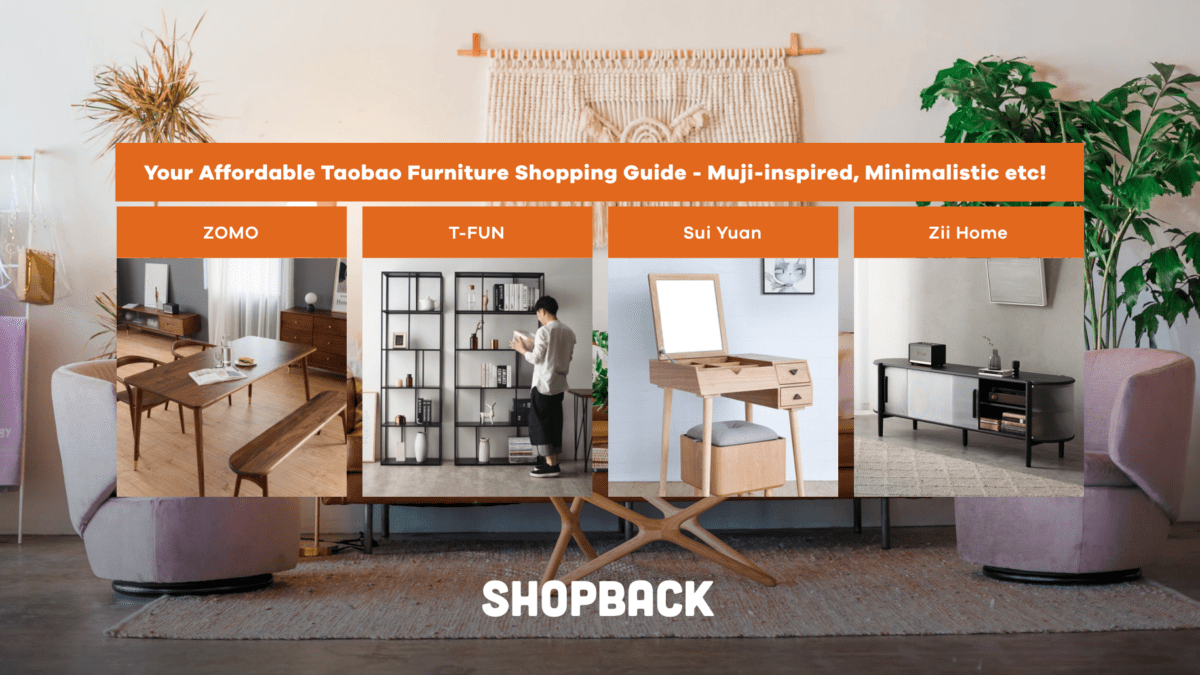 Your Affordable Taobao Furniture Shopping Guide – Muji-inspired, Minimalistic etc!