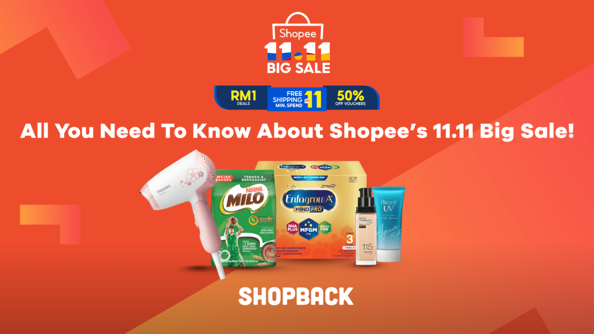 All You Need To Know About Shopee's 11.11 Big Sale