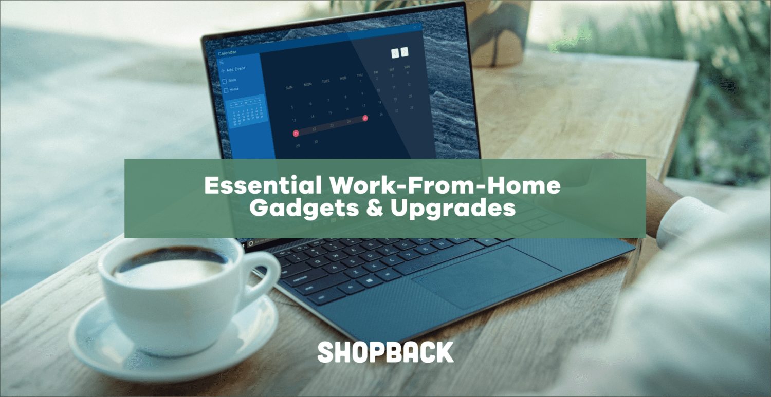 work from home gadgets and upgrades
