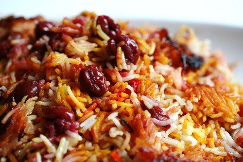 biriyani rice saffron cream rice cooker