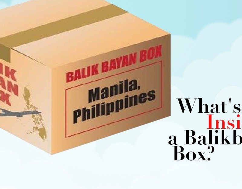 What's Inside A Balikbayan Box?