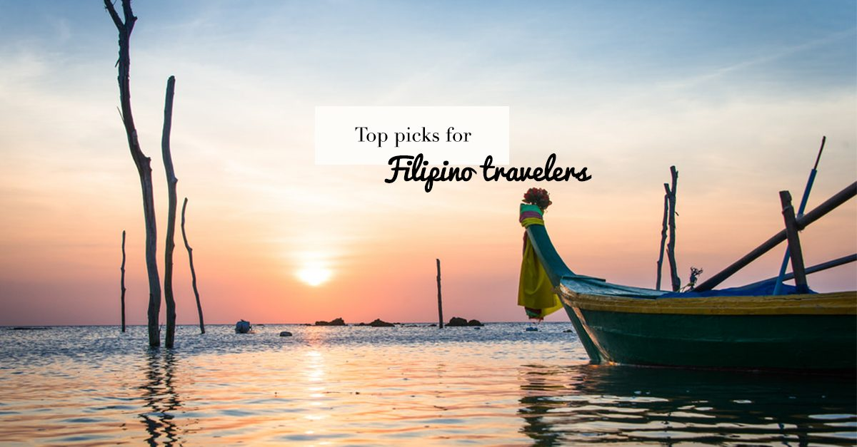 Top 5 Overseas Travel Destinations For Filipinos