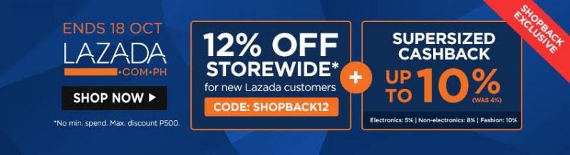 Lazada+ShopBack Exclusive