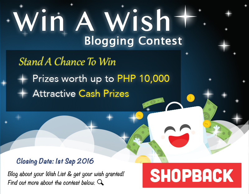 Win a Wish from ShopBack!