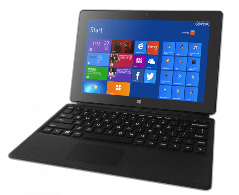 Alpha Morph is a 2-in-1 laptop and tablet