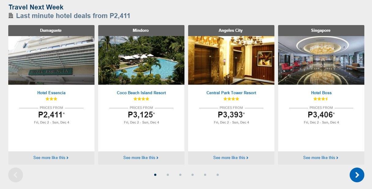 Travel Next Week Deals