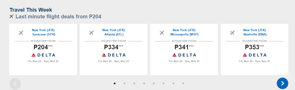 Travel This Week Deals