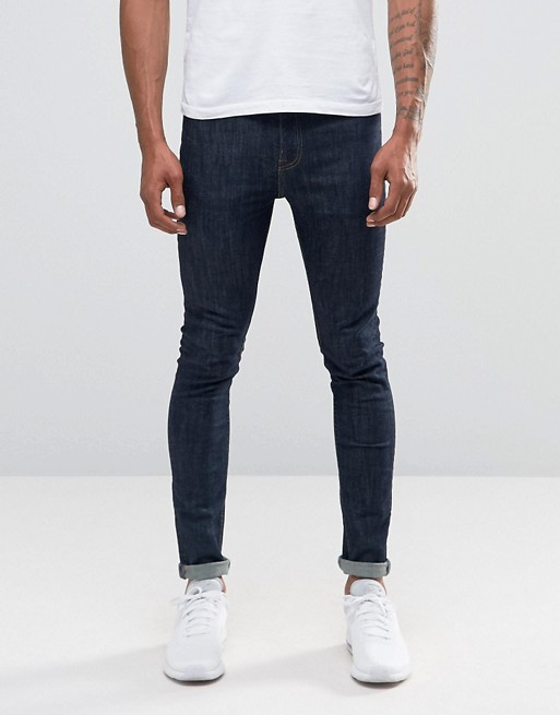 New Look Skinny Jeans in Rinse Blue