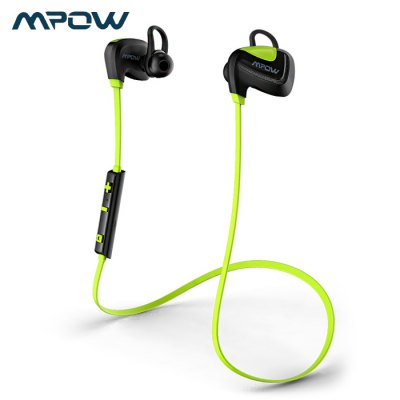 MPOW Seashell Bluetooth V4.1 Sports Earbuds with Microphone