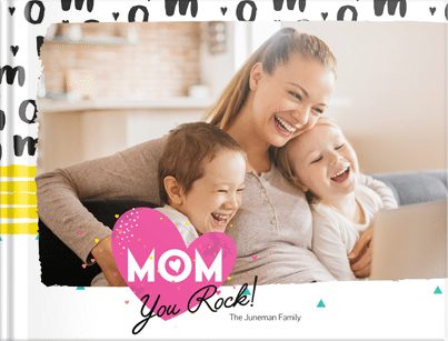 Mother's Day PhotoBook Gift Idea