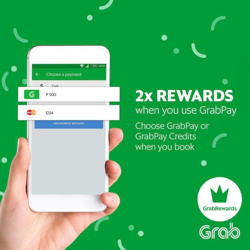 Go cashless with Grab