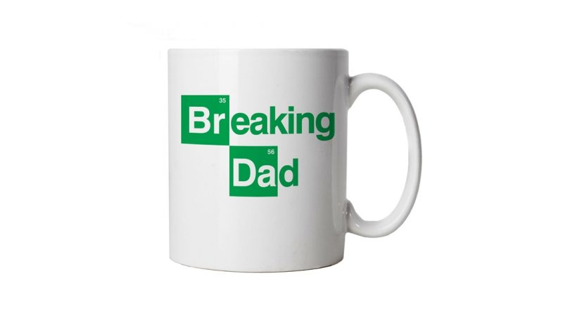 Breaking Dad Mug