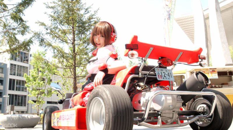 Otaku Paradise Street Go-Karting