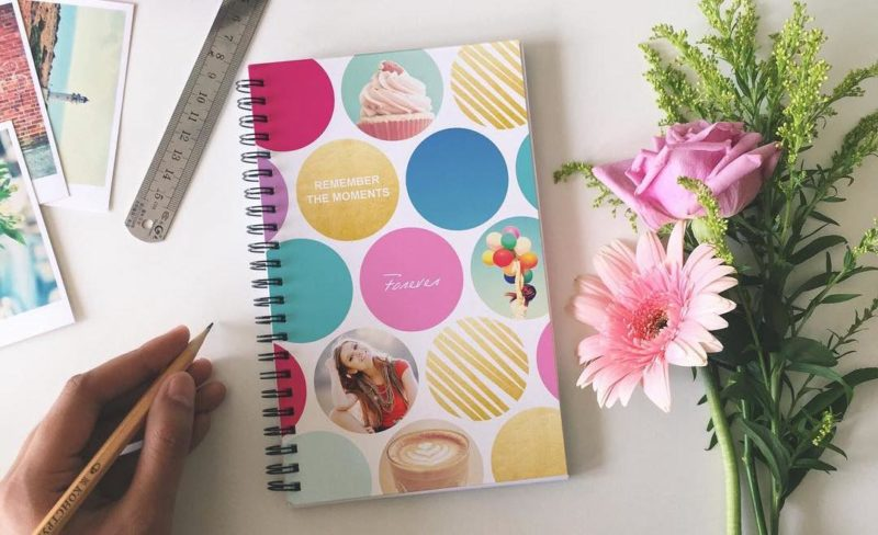 Photobook Worldwide Notebook customized by customers