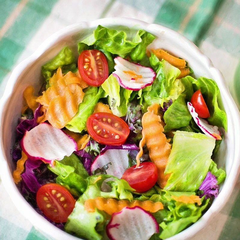 Salad Green Vegetables Healthy Eating Weight Loss