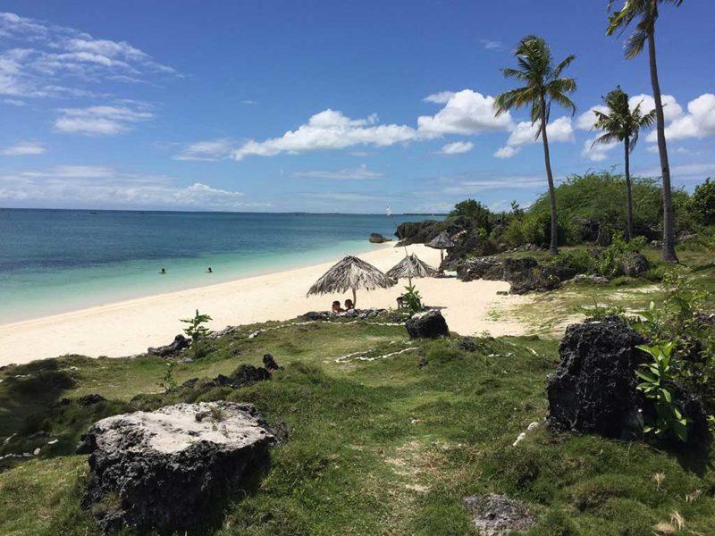 Paradise beach on Bantayan Island
