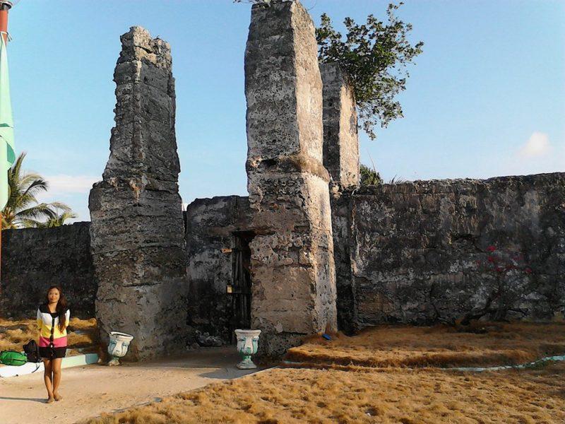 Entrance of Kota Eco Park at Bantanyan Island