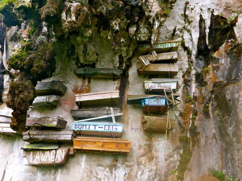 Sagada, tourist spots, hanging coffins, Echo Valley