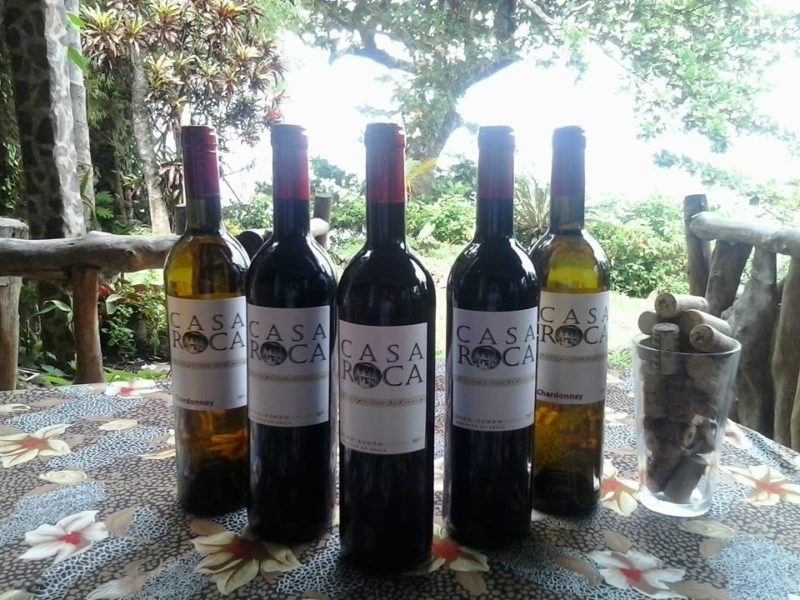 Wines sold at Casa Roca