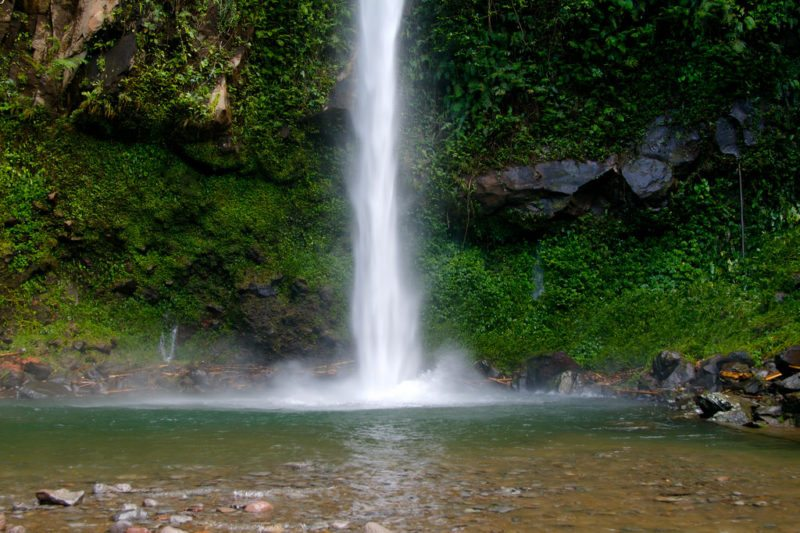 View of Katibawasan Falls, Camiguin, the Philippines