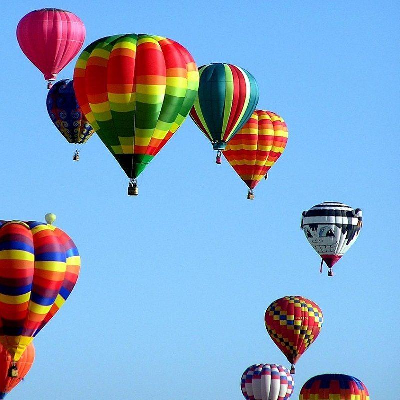 Hot Air Balloon Sky