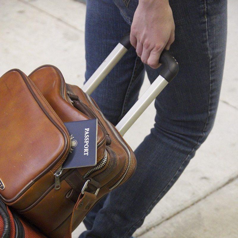 Luggage Bag Travel Passport Surprise Visit Long Distance Relationship