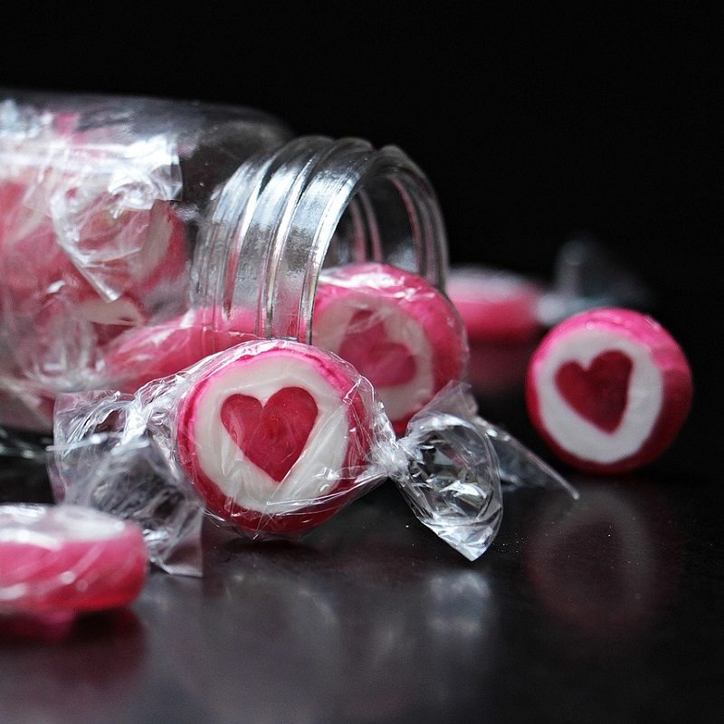 Candy Heart Sweet Surprise