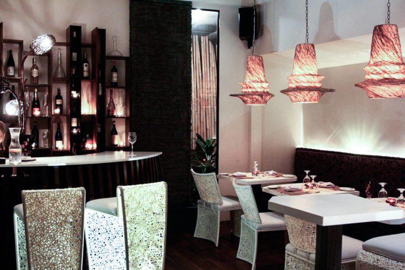 Ninyo indoor dining setup