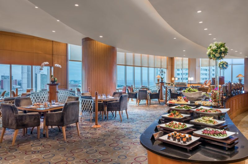 Pacific Lounge buffet