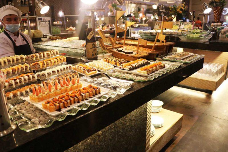 The Food Club buffet spread Manila