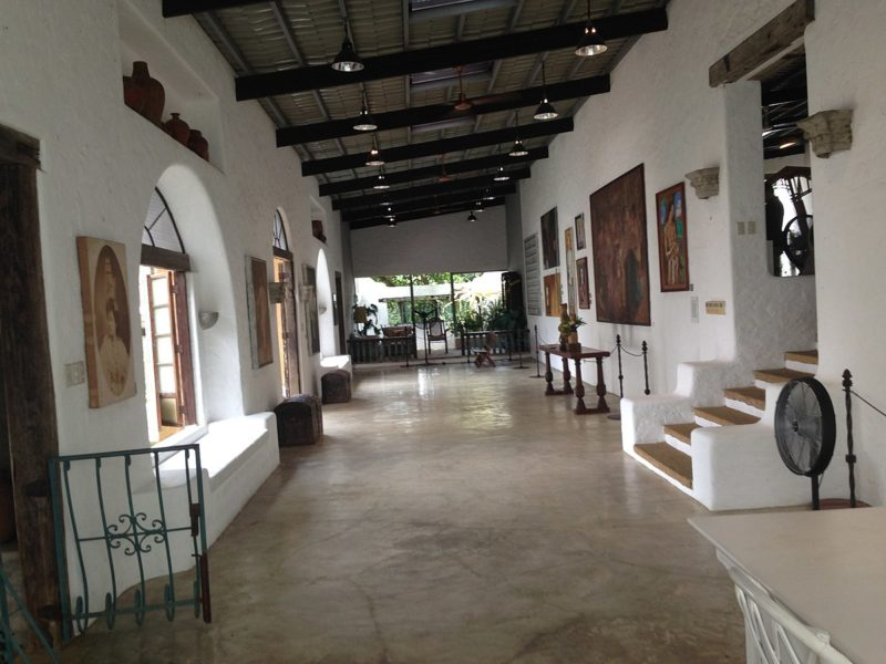 interior of the Pinto Art Museum, Antipolo