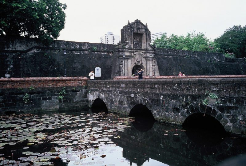 Fort Santiago in Intramuros, Manila