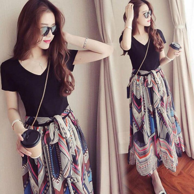 Two piece casual dress