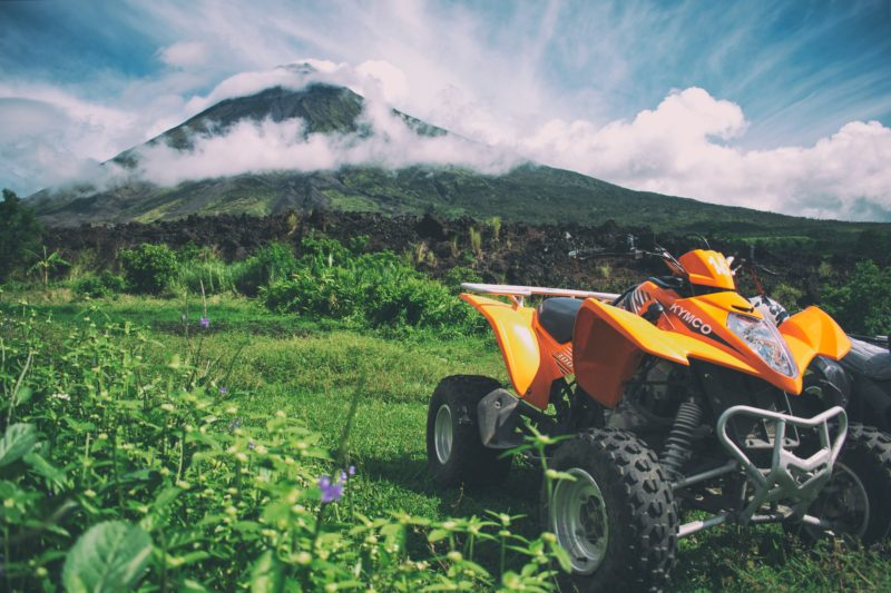 Get closer to the Mayon Volcano through an ATV adventure ride.