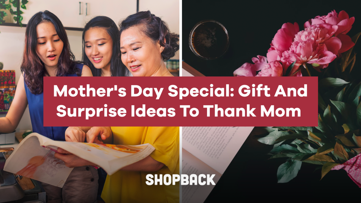 Mother's Day Special: Gift And Surprise Ideas To Thank Mom