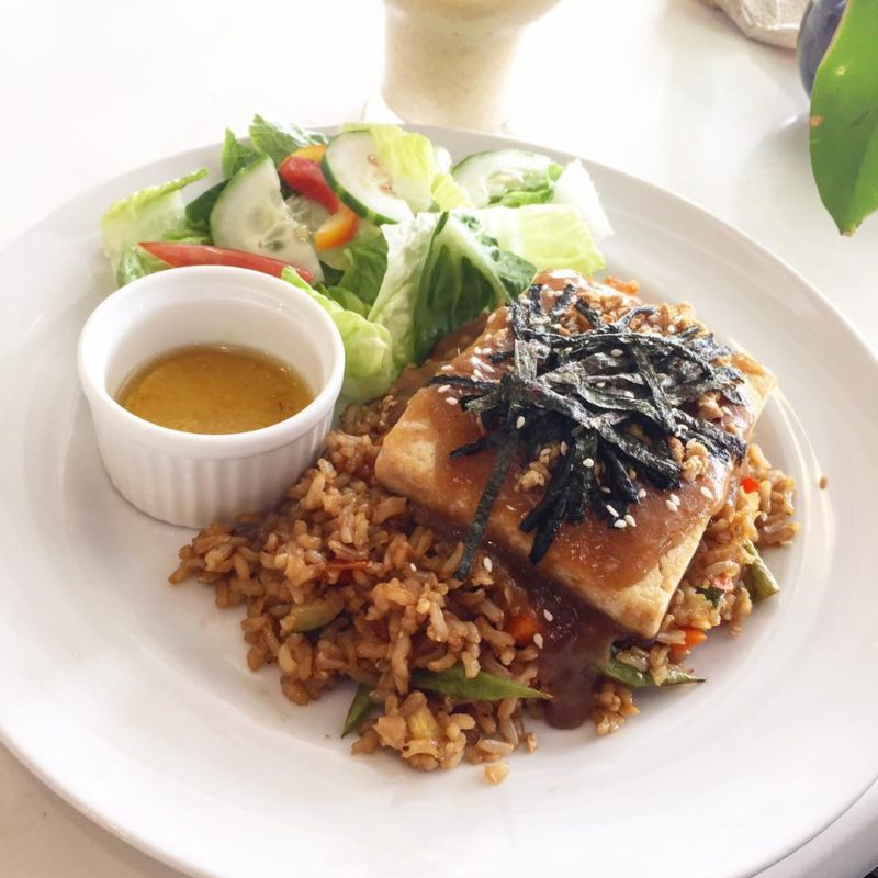 Japanese Tofu Steak