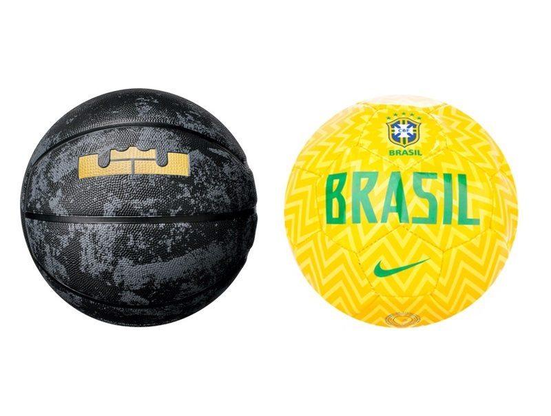 Nike Lebron Playground & Nike Brasil CBF Skills Football