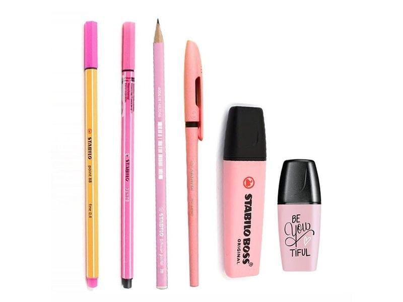 STABILO Pink Blush Pastel Collection