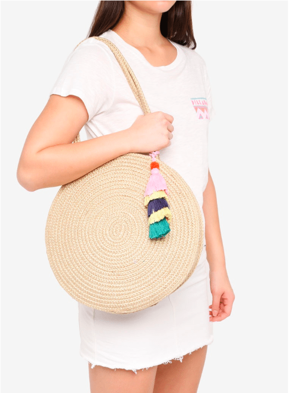 Trendy Summer Straw handbag