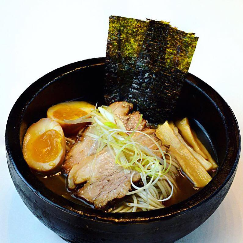 Enjoy tasty ramen in Gyu Kaku.
