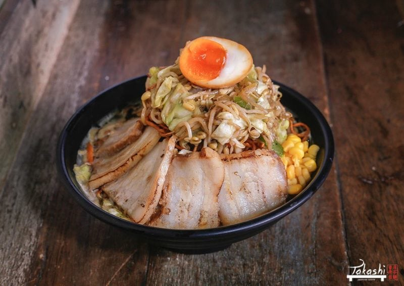 Try out their new Mt. Fuji Ramen. It'll take ramen to greater heights.