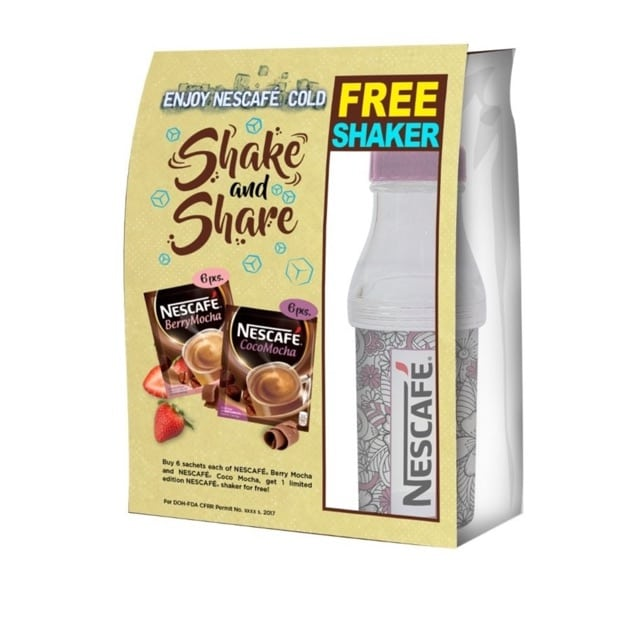 Shake and share from Nescafe in Philippines