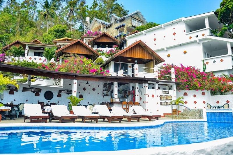 mediterranean greek resort in the philipines