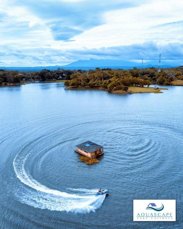 Aquascape Lake Caliraya Philipines